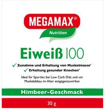Megamax Eiweiss 100 Himbeer Megamax Pulver (30 g)