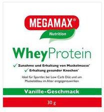 Megamax Wheyprotein Lactosefrei Vanille Pulver (30 g)