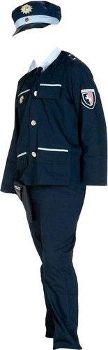 Rubies Kinderkostüm Polizistin blau