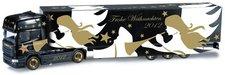 "Herpa Scania R 09 TL Koffer-Sattelzug  ""Herpa Weihnachtstruck 2012 "" (301381)"