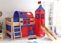 Ticaa Rutschbett mit Turm Emma Classic (blau rot)