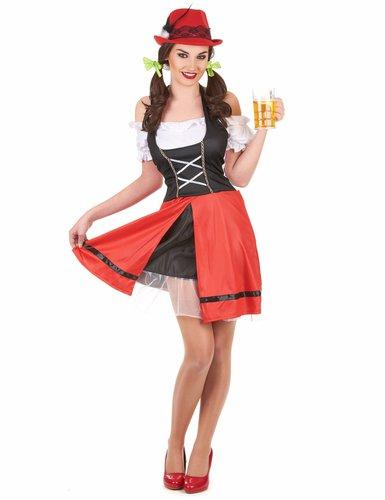 Sexy Bayerin Karnevalskostüm
