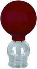 NOZ Schröpfglas aus Glas mit Ball