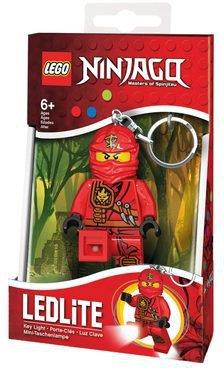 LEGO Ninjago Kai Fire Ninja Taschenlampe mit Schlüsselanhänger