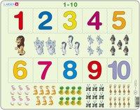 Larsen Numbers 1 - 10