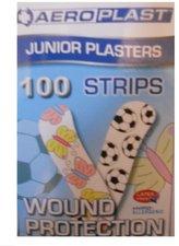 Aeromedic Aeroplast Plastic Pflasterstrips 7,2 x 1,9 cm Motiv für Kinder (100 Stk.)
