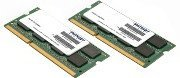 Patriot Signature 8GB Kit SO-DIMM DDR3 PC3-10600 CL9 (PSA38G1333SK)
