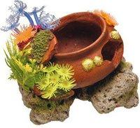 Nobby 28128 Aqua Ornaments Topf mit Pflanzen