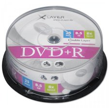 Xlayer DVD+R bedruckbar