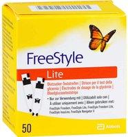 1001 Artikel Medical Freestyle Lite Teststreifen ohne Codieren (50 Stk.)