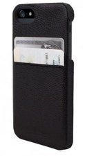 Hex Solo Wallet Case Schwarz (iPhone 5)