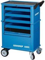 Gedore 1580 Werkzeugwagen mit 4 Schubladen