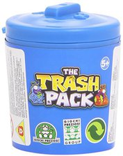 Giochi Preziosi Trash Pack Serie 3 - Blaue Mülltonne mit 2 Müllmonstern