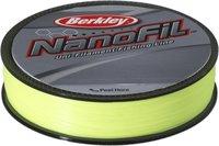 Berkley Nanofil 125m 025mm HV Chartreuse
