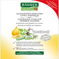 Rausch Kräuter Vital Kapseln 3 Monats-Packung (3 x 30 x 2 Stk.)
