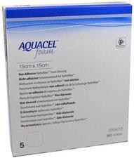 ConvaTec Aquacel Foam N/adh 15x15 Cm Verband (5 Stk.)