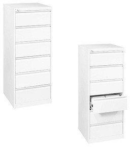 CP Möbelsysteme C 2000 Acurado Karteischrank 2-bahnig (6 Schübe) DIN A5