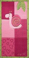 Esprit Kinderteppich Garden Party Bee pink 70 x 140 cm