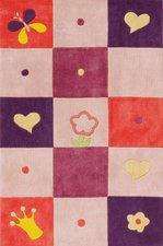Baby Walz Teppich Girly Karo (80 x 150 cm)