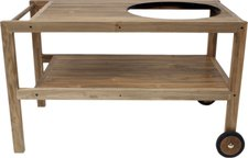 Monolith Grill Tisch aus recyceltem Teak
