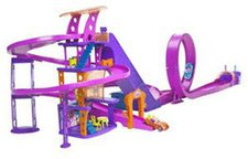 Mattel L4357 Polly Pocket® Shoppingtour Rennbahn