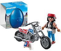 Playmobil Große Ostereier - Biker mit Chopper (5280)
