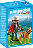 Playmobil Country - Bergretter mit Suchhund (5431)