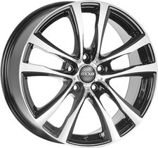 Oxxo Alloy Wheels Decimus Black (7x17)