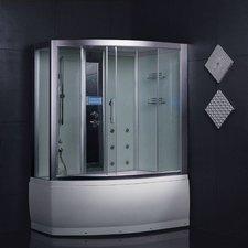 Eago Design Dampfdusche 150 x 100 cm (DA328HF3)