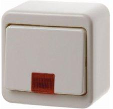 Berker Kontroll-Wippschalter, weiß 301640