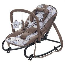 Baby-Plus Baby Wippe Bella Brown Circles