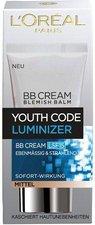 Loreal Youth Code Luminizer BB Cream (50 ml)