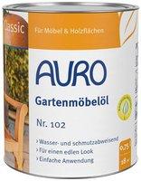 AURO Gartenmöbelöl Classic Nr. 102