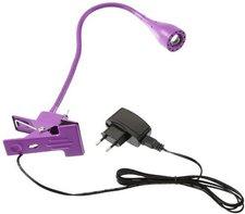 Nordlux Mento LED-Klemmleuchte lila (75582007)
