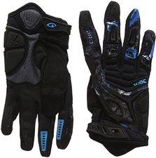 Giro Xen Handschuh Lang schwarz/cyan