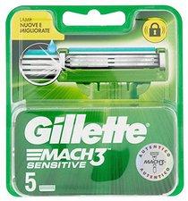 Gillette Mach3 Sensitive Power (5 Stk.)