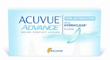 Johnson & Johnson Acuvue Advance for Astigmatism (6 Stk.) +1.25
