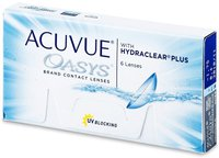 Johnson & Johnson Acuvue Oasys with Hydraclear Plus (6 Stk.) +2,00