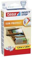 Tesa 55924-21 Fliegengitter Sonnenschutz für Dachfenster (120 x 140 cm)