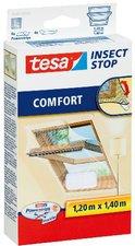 Tesa 55881-20 Fliegengitter Comfort für Dachfenster (120 x 140 cm)