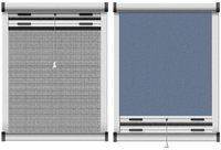 Schellenberg Insektenschutzrollo Dachfenster blau (90 x 160 cm)