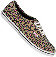 Vans Authentic Lo Pro Leopard khaki/hot pink