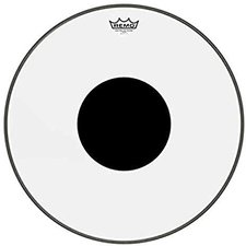 """Remo Clear Controlled Sound Bassdrum Black Dot 20 """""""