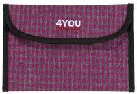 4You Soft Etui Checker Pink