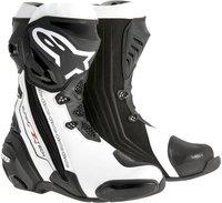 Alpinestars Supertech R Boot schwarz/weiss