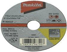 Makita Trennscheibe Ultra-Dünn, für Edelstahl (P-40032-10)