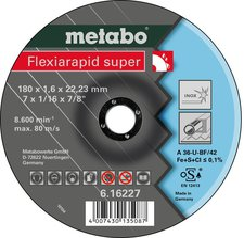 Metabo Flexiarapid Super Inox A 46-U 180 x 1,6 x 22,23 mm (6.16227.00)