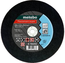 Metabo Flexiamant Super Inox A 36-R 350 x 3 x 25,4 mm (6.16343.00)