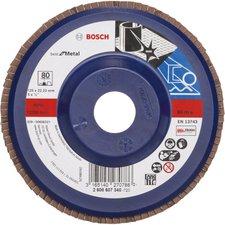 Bosch Blue Metal-top Ø 125 mm Korn 80, gerade, Kunststoff (2 608 607 340)