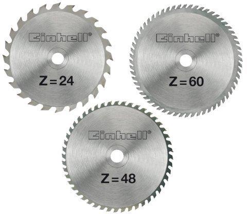 Einhell HM-Sägeblattset 250 x 30 x 3,0 mm (3-tlg.)